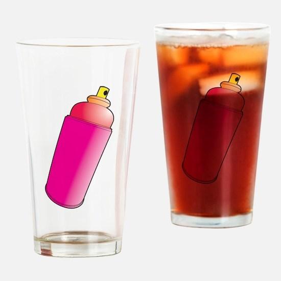 Spray Paint Drinking Glass