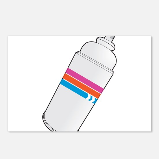 Spray Paint Postcards (Package of 8)