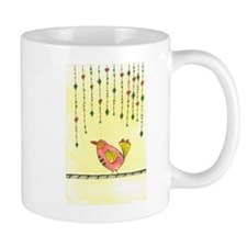 Bird with Dangles Mugs