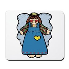 Blue Country Angel Mousepad