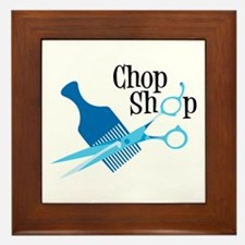 Chop Shop Framed Tile