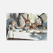 Alice in Wonderland Tea Party Rectangle Magnet