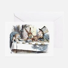 Alice in Wonderland Tea Party Greeting Card