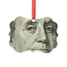 Benny Closeup Picture Ornament