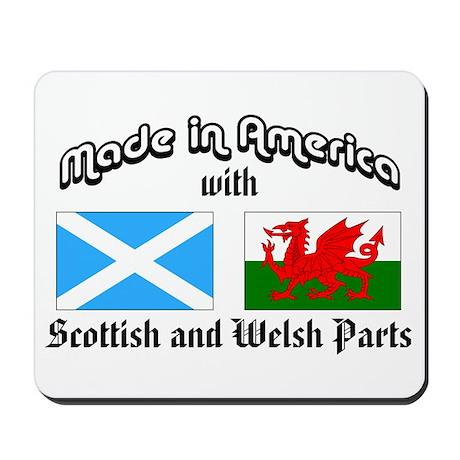 Scottish-Welsh Mousepad