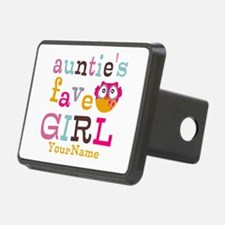 Personalized Aunties Favorite Girl Hitch Cover