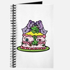 Country Style Birthday Cake Froggy Journal