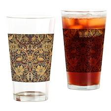 Vintage Morris Tapestry Drinking Glass
