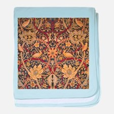 Vintage Morris Tapestry baby blanket