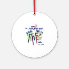 Bingo Ornament (Round)