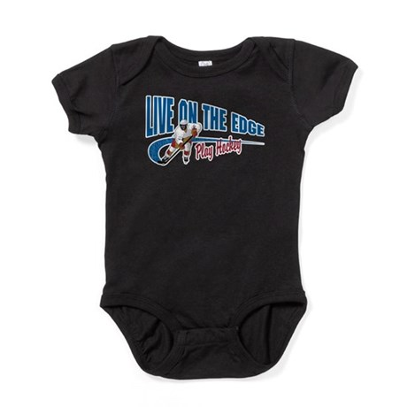 Hockey Player Baby Bodysuit
