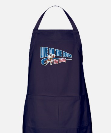 Hockey Player Apron (dark)