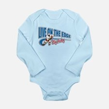 Hockey Player Long Sleeve Infant Bodysuit