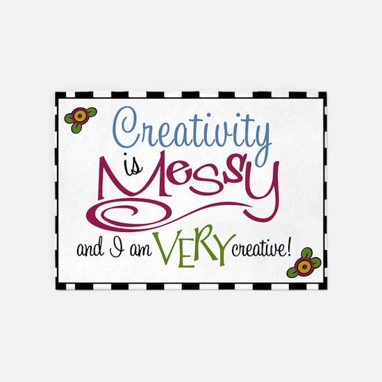Creativity 5'X7'area Rug