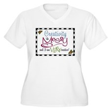Creativity Plus Size T-Shirt