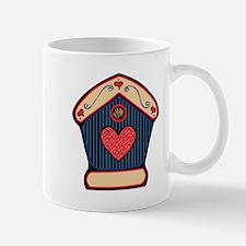 Country Style Birdhouse Design Mug