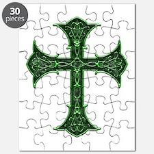 Emerald Cross Puzzle