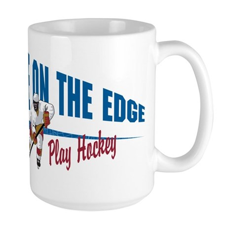 Hockey Player Large Mug