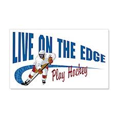 Hockey Player Wall Decal
