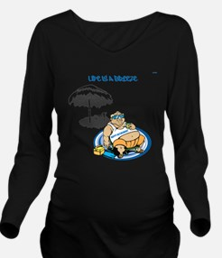 OYOOS Happy Retirement design Long Sleeve Maternit