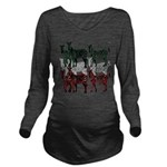 OYOOS Zebra design Long Sleeve Maternity T-Shirt