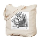Alice in wonderland Canvas Bags
