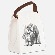 Vintage Alice in Wonderland 'look Canvas Lunch Bag