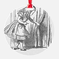 Vintage Alice in Wonderland 'lookin Ornament