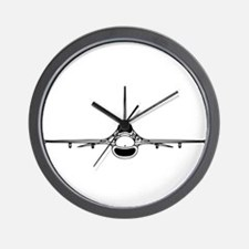 F-16 Fighting Falcon (front) Wall Clock