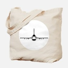F-16 Fighting Falcon (front) Tote Bag