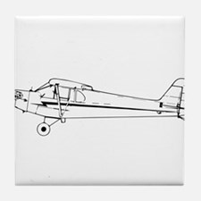 Piper J3 Cub Tile Coaster