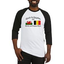 Welsh-Belgian Baseball Jersey