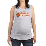 expectingapumpkininoctober.png Maternity Tank Top