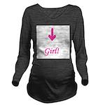 arrowgirl.jpg Long Sleeve Maternity T-Shirt