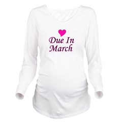 pinkheart_duein_march.png Long Sleeve Maternity T-