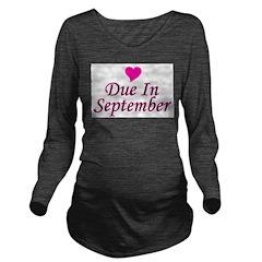 pinkheart_duein_september.png Long Sleeve Maternit
