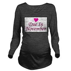 pinkheart_duein_november.png Long Sleeve Maternity