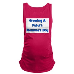 growingafuturemommasboy.png Maternity Tank Top