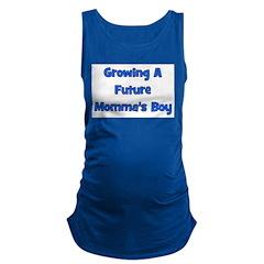 growingafuturemommasboy.png Maternity Tank Top