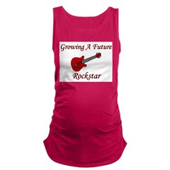 growingafuturerockstar.png Maternity Tank Top