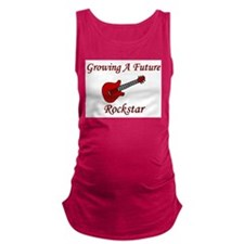 growingafuturerockstar.png Maternity Tank Top