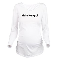 werehungry_black_TR.png Long Sleeve Maternity T-Sh