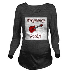 pregnancyrocs.png Long Sleeve Maternity T-Shirt