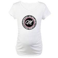 Letter M girly black monogram Shirt
