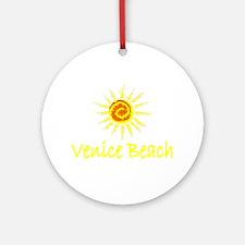 Venice Beach, California Ornament (Round)