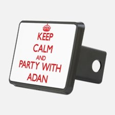 Keep Calm and Party with Adan Hitch Cover