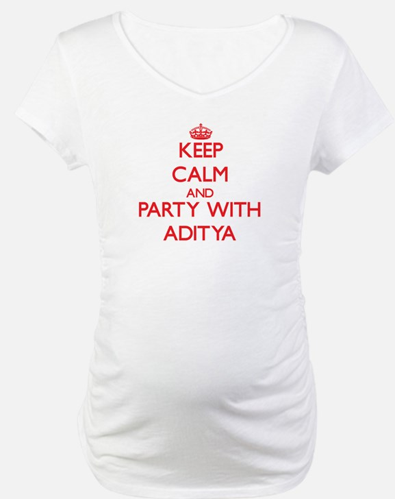 Keep Calm and Party with Aditya Shirt