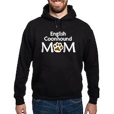 English Coonhound Mom Hoodie