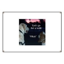 Walking Dogs Banner