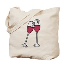 OYOOS Wine glass design Tote Bag